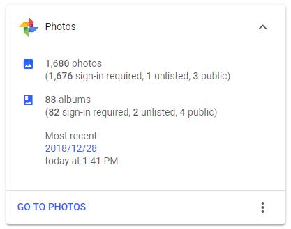 Cómo contar las fotos en Google Photos y otros trucos fotográficos 3
