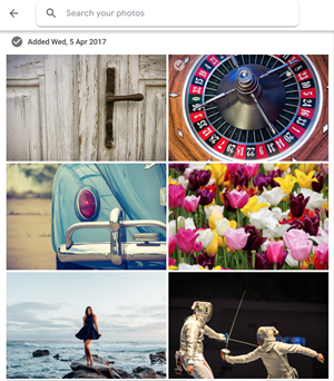 Buscar fotos subidas recientemente en Google Photos 2
