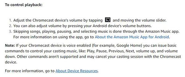 Cómo reproducir música de Amazon en la página de inicio de Google 24