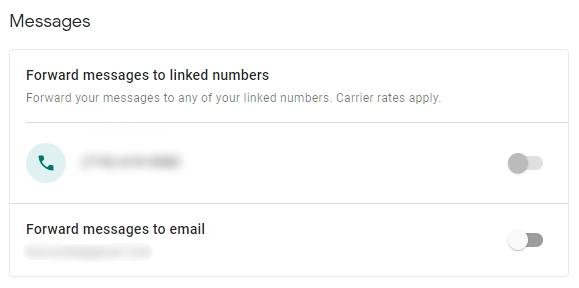 Cómo reenviar mensajes de texto a su correo electrónico 5