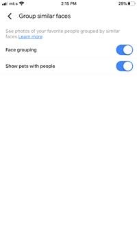 Cómo activar el reconocimiento de rostros en Google Photos 4