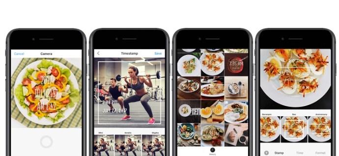Cómo añadir marcas de fecha y hora a las fotos en el iPhone 4
