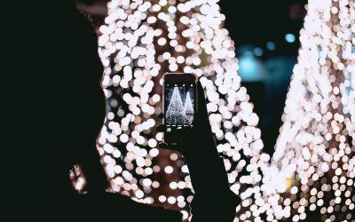 Cómo añadir marcas de fecha y hora a las fotos en el iPhone 1