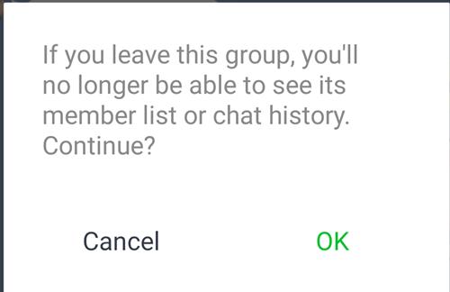 Cómo dejar el chat en línea 3