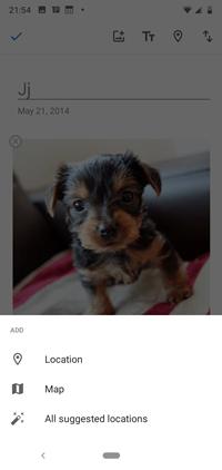 Cómo añadir la ubicación a Google Photos 4