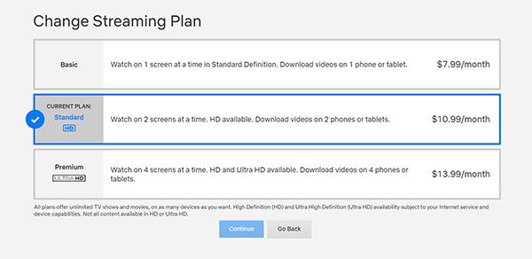 Cómo ajustar la calidad del video en Netflix 7