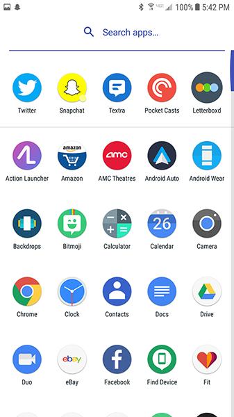 Los Cinco Mejores Lanzadores de Androides [Enero 2020] 5