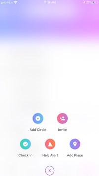 Cómo encontrar su código del círculo en Life360 4
