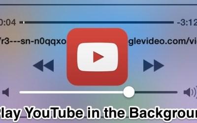 Cómo jugar a Youtube en el fondo del iPhone [Octubre 2019] 1