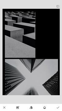 Cómo combinar fotos en Snapseed 8