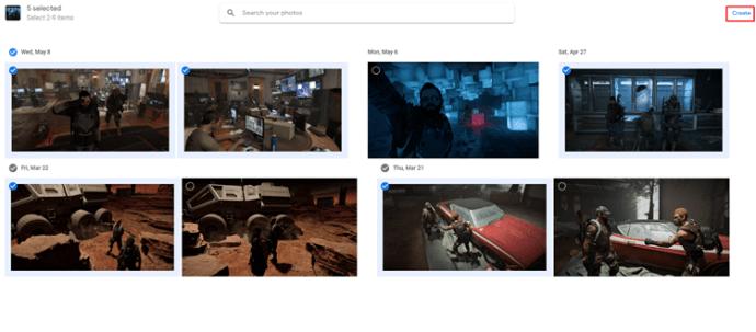 Cómo realizar un fotomontaje con Google Photos 5