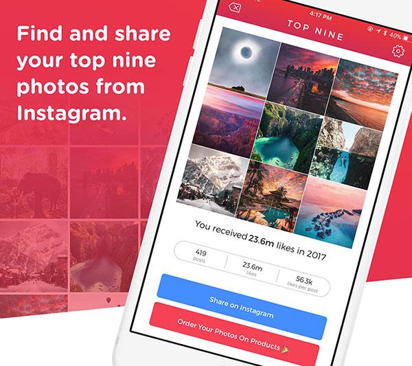 Cómo crear un Instagram Top 9 para 2019 2
