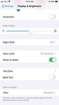 El iPhone no gira automáticamente - Qué hacer 3
