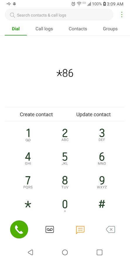 Cómo llamar directamente al correo de voz de alguien 4
