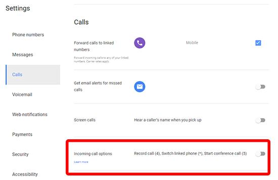 Cómo grabar automáticamente todas las llamadas en Android 3