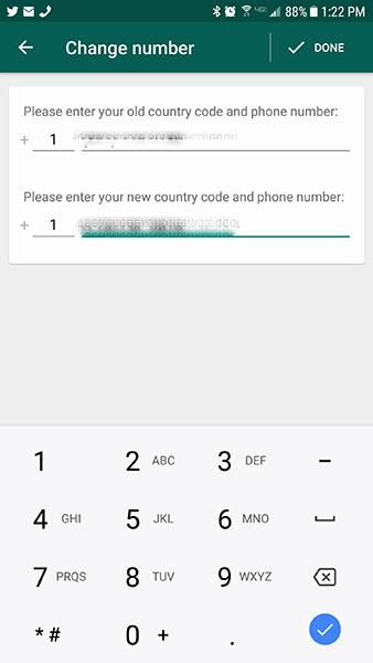 Cómo ocultar el número de teléfono en WhatsApp 7