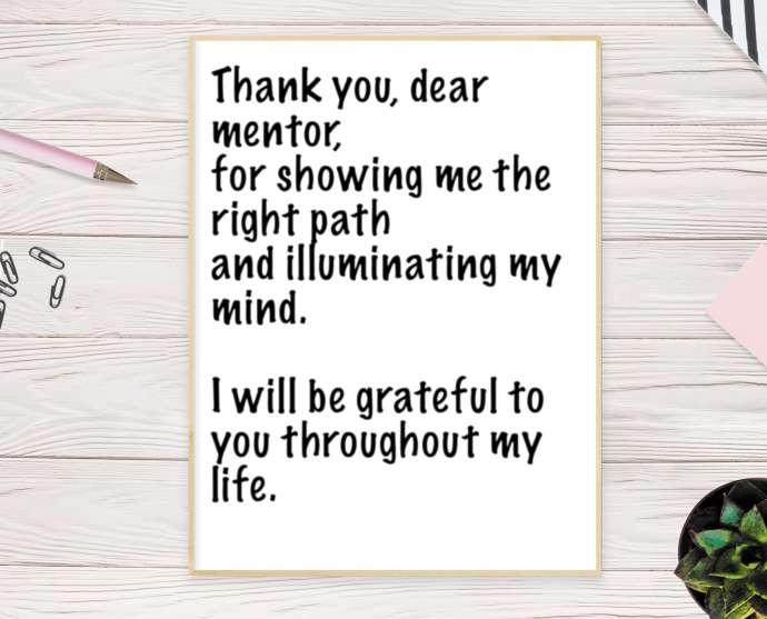 Las mejores notas de agradecimiento para su jefe 14