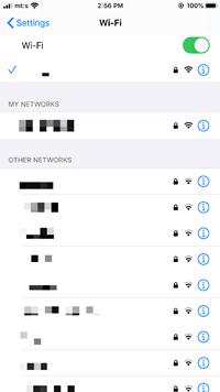 El iPhone no se conectará automáticamente a WiFi 2