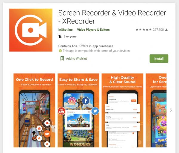 Cómo grabar la pantalla en un dispositivo Android 2